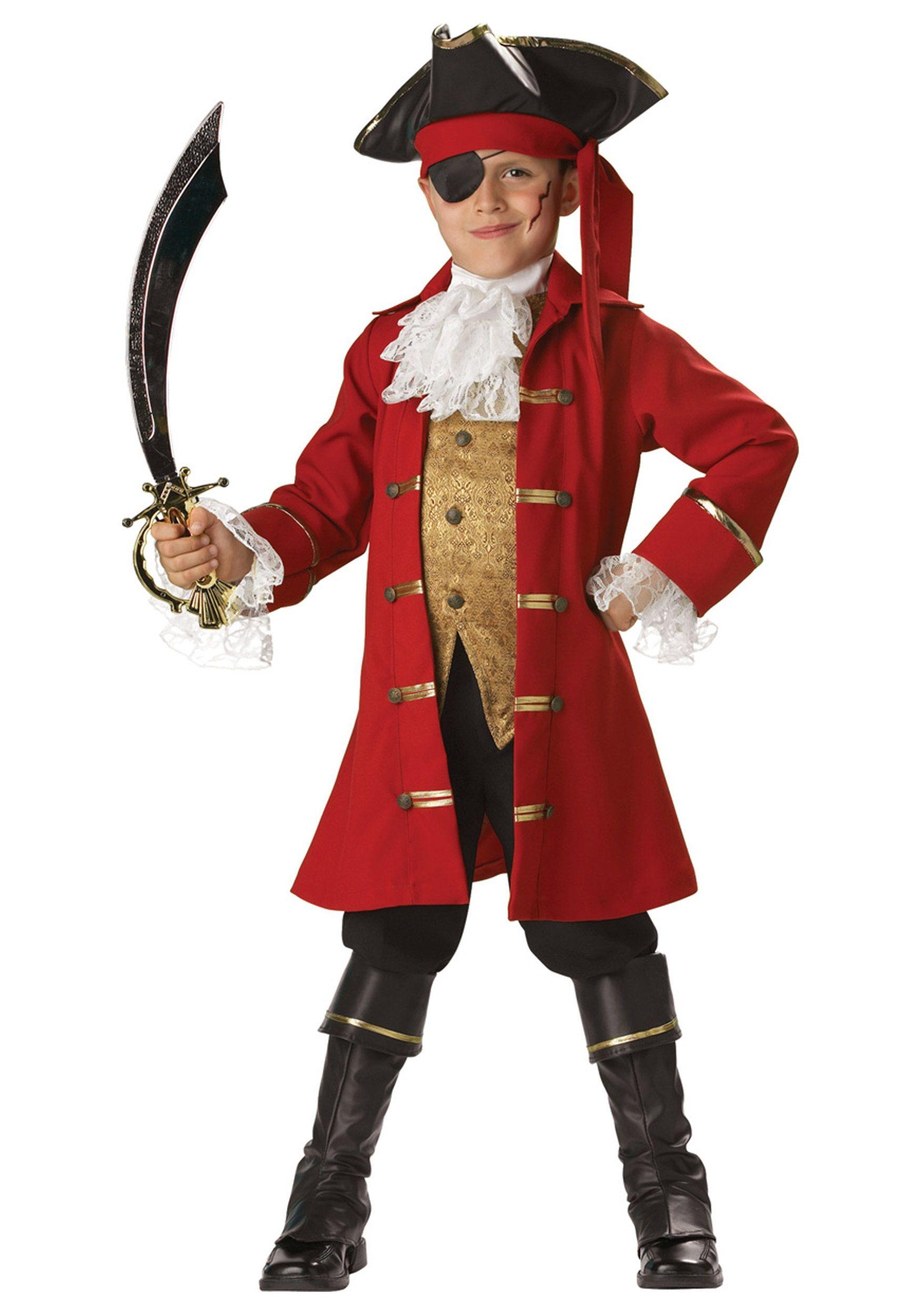 Pirate Captain Costume | Boys Halloween Costumes | Pinterest ...