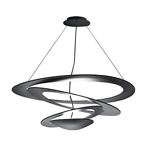 Artemide Pirce Led Suspension Lamp Black Co Uk