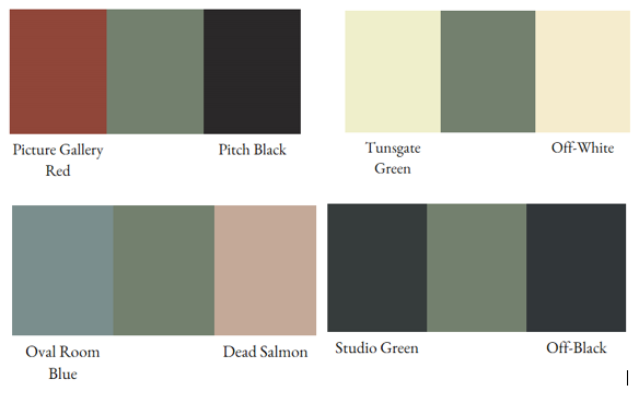 Farrow Ball S Card Room Green Is A Masculine Grey Green This
