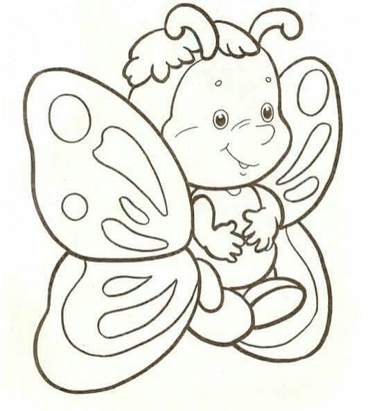 Kelebek Butterfly Coloring Page Insect Coloring Pages Cute Coloring Pages