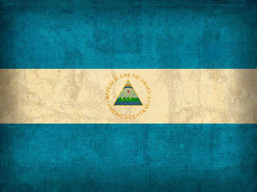 the nicaragua flag