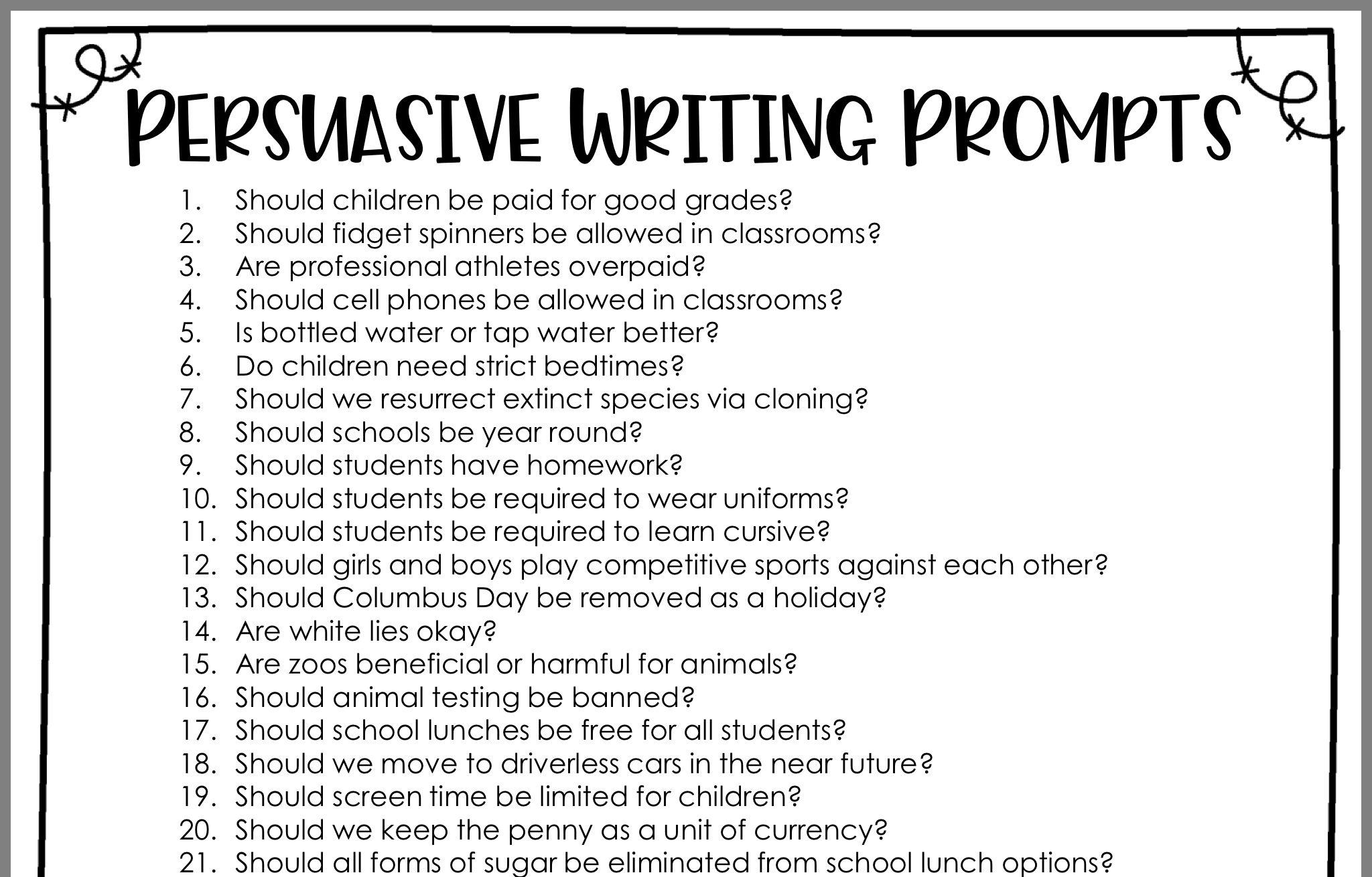 Pin By Tammy Trentmann On School Persuasive Writing Prompts Persuasive Writing Writing Prompts [ 1310 x 2048 Pixel ]