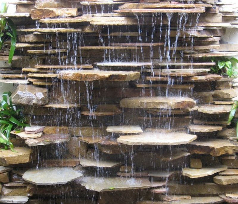30 Amazing Outdoor Water Wall Design Ideas Wall fountains