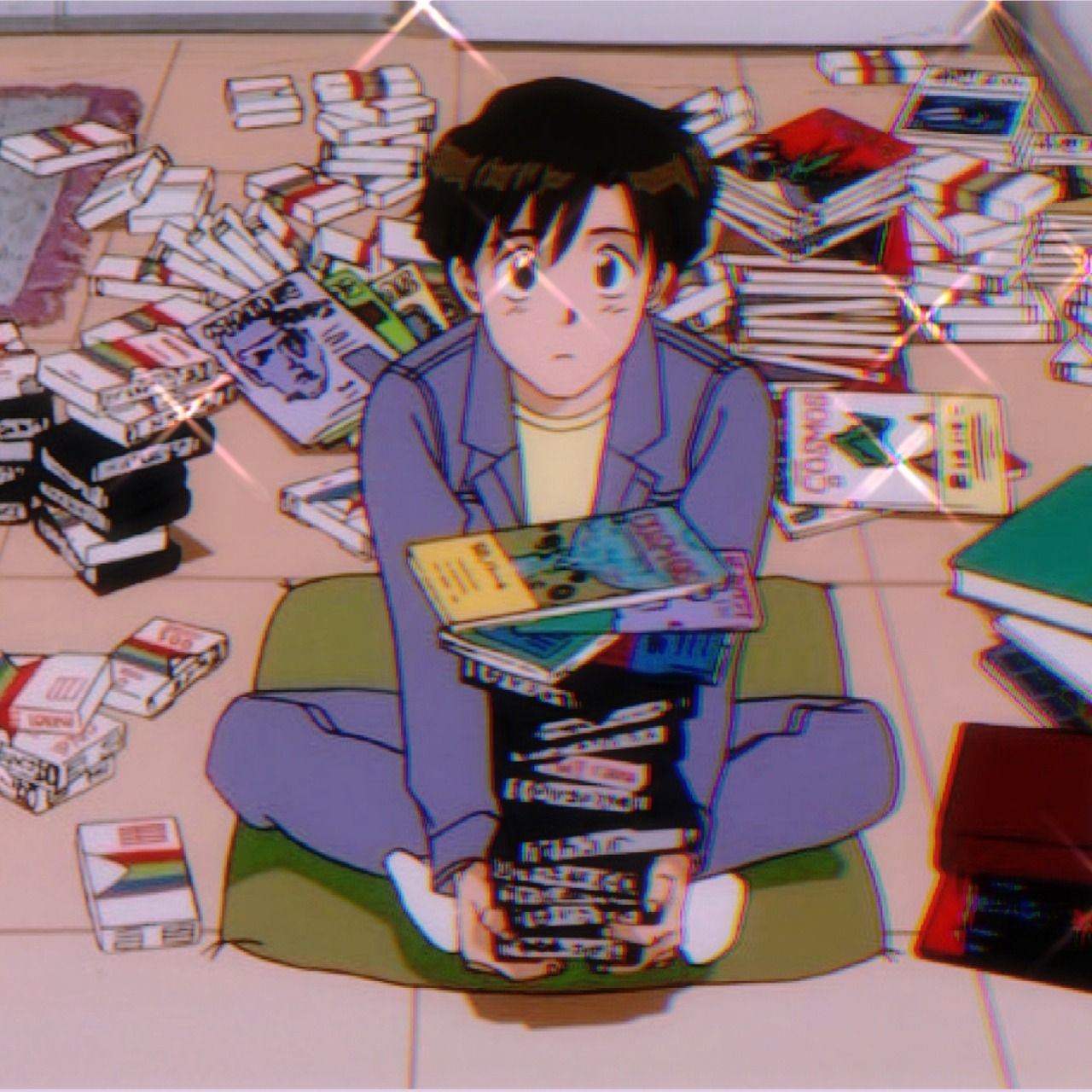 90s anime aesthetic Aesthetic anime, 90s anime, Cute