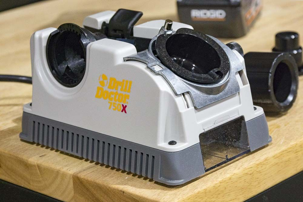 Drill doctor 750x drill bit sharpener pro tool reviews