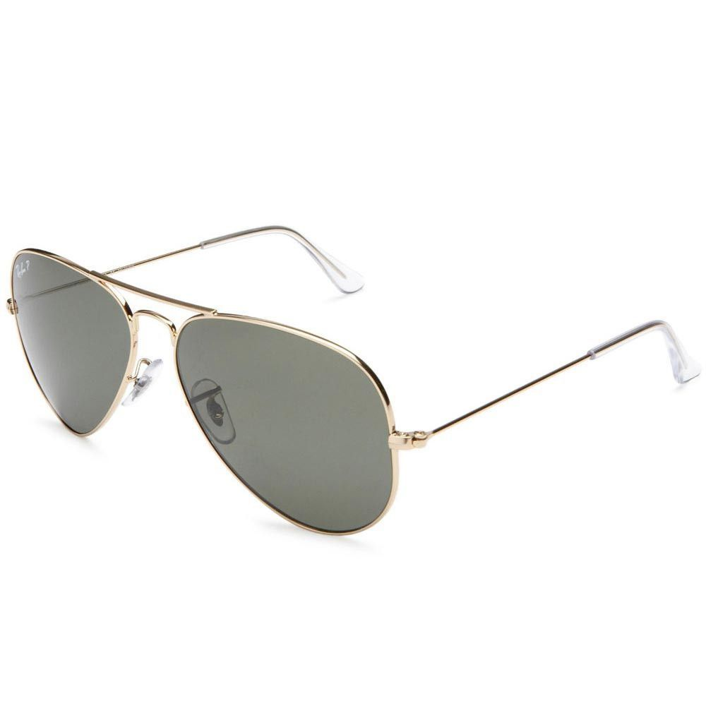 f256787f32 Ray-Ban RB 3025 001-58 58 Aviator Polarized Crystal Lenses Gold Tone Metal Frame  Sunglasses