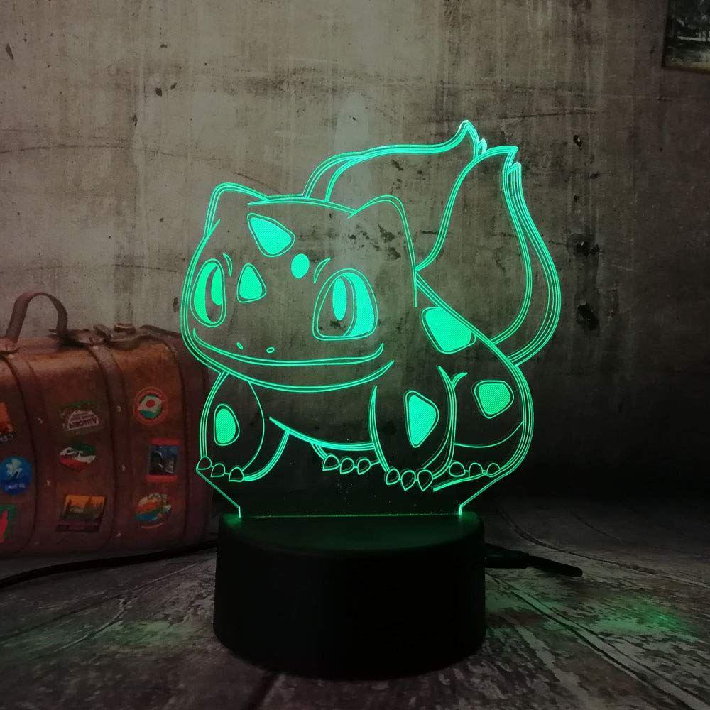Coole Lampe Fur Pokemon Fans 3d Optische Tauschung Tisch Schreibtischlampe In 2020 Nachtlicht Fur Kinder Weihnachten Kinder Schreibtischlampe
