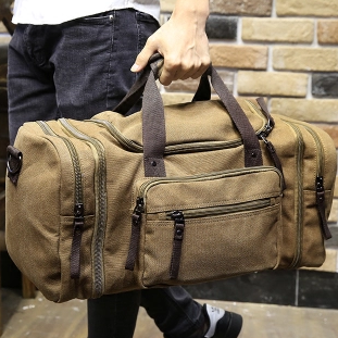 7bc1f94b6f42 Xiao.p Vintage military Canvas men travel bags Carry on Luggage bags Men Duffel  bags travel tote large weekend Bag Overnight