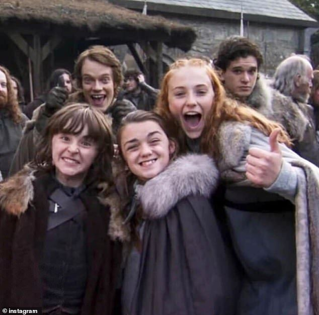 Game Of Thrones stars share their favourite behind the scenes shots