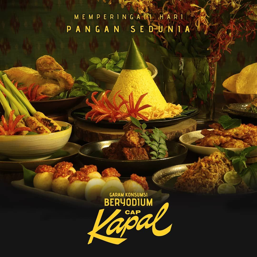 Untuk Mendukung Terciptanya Ketahanan Dan Kedaulatan Pangan Pt Susanti Megah Sebagai Produsen Garam Cap Kapal Terus Table Decorations Decor Food
