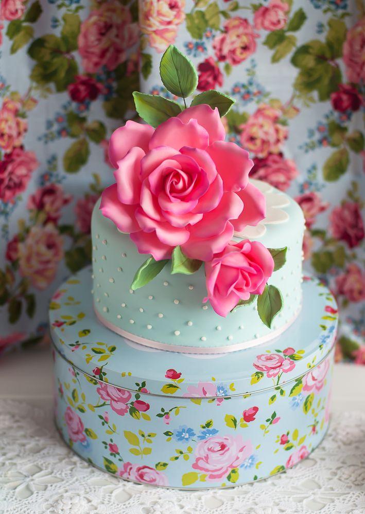 Sugar Roses Rose Cake By Lulu S Sweet Secrets