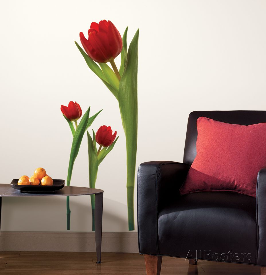 Tulip peel stick wall decals wall decal at allposters tulip peel stick wall decals amipublicfo Images