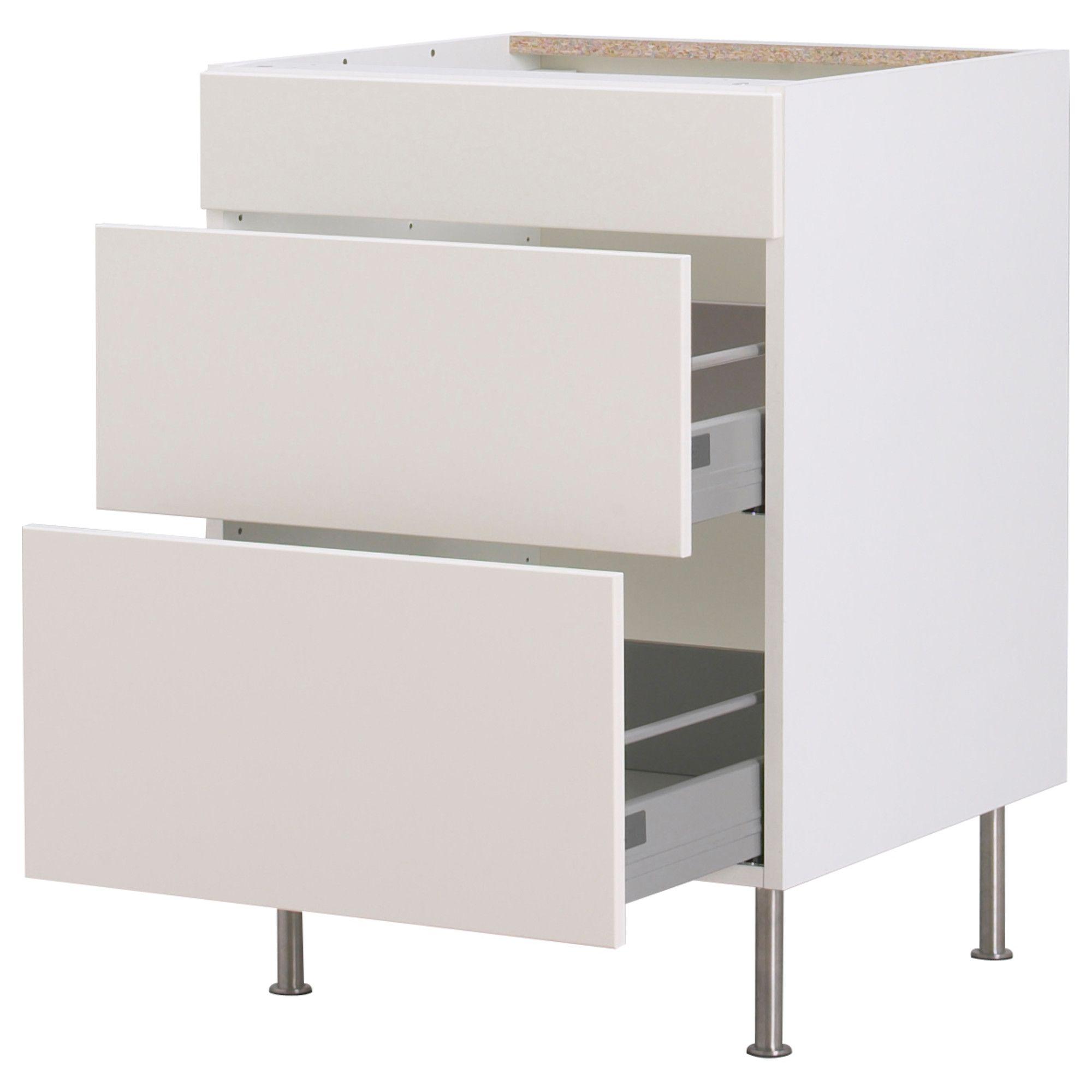 Interior Akurum Base Cabinet akurum base cabinet with 3 drawers white 18 ikea