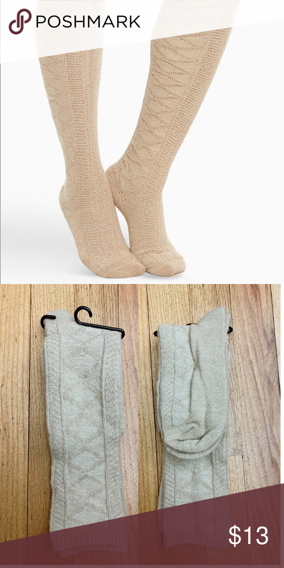 "a365131e4c30e9 Cable knit knee high Cable knit knee high *BRAND NEW BUT MISSING THE BAND""  torrid Accessories Hosiery & Socks"