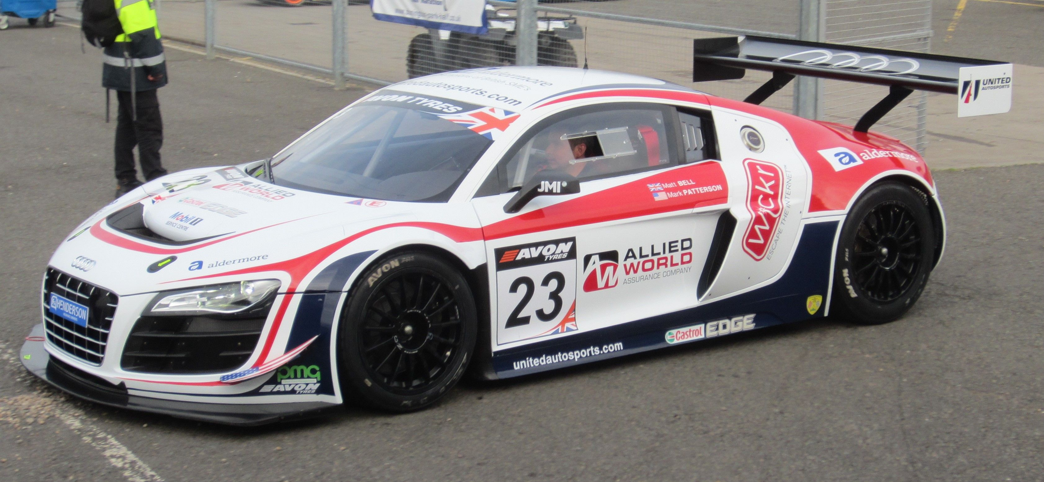 Two Audi R8 Lms Ultra Cars Form Spearhead At The Nurburgring 24