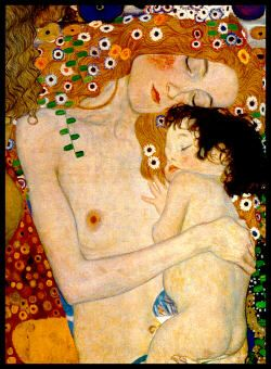 Verwonderend Klimt - The Three Ages of Woman. I find it amazing that this XG-75