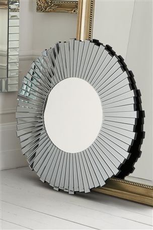 Bathroom Mirrors Next facet wheel smoked mirror | master bedroom | pinterest | uk online