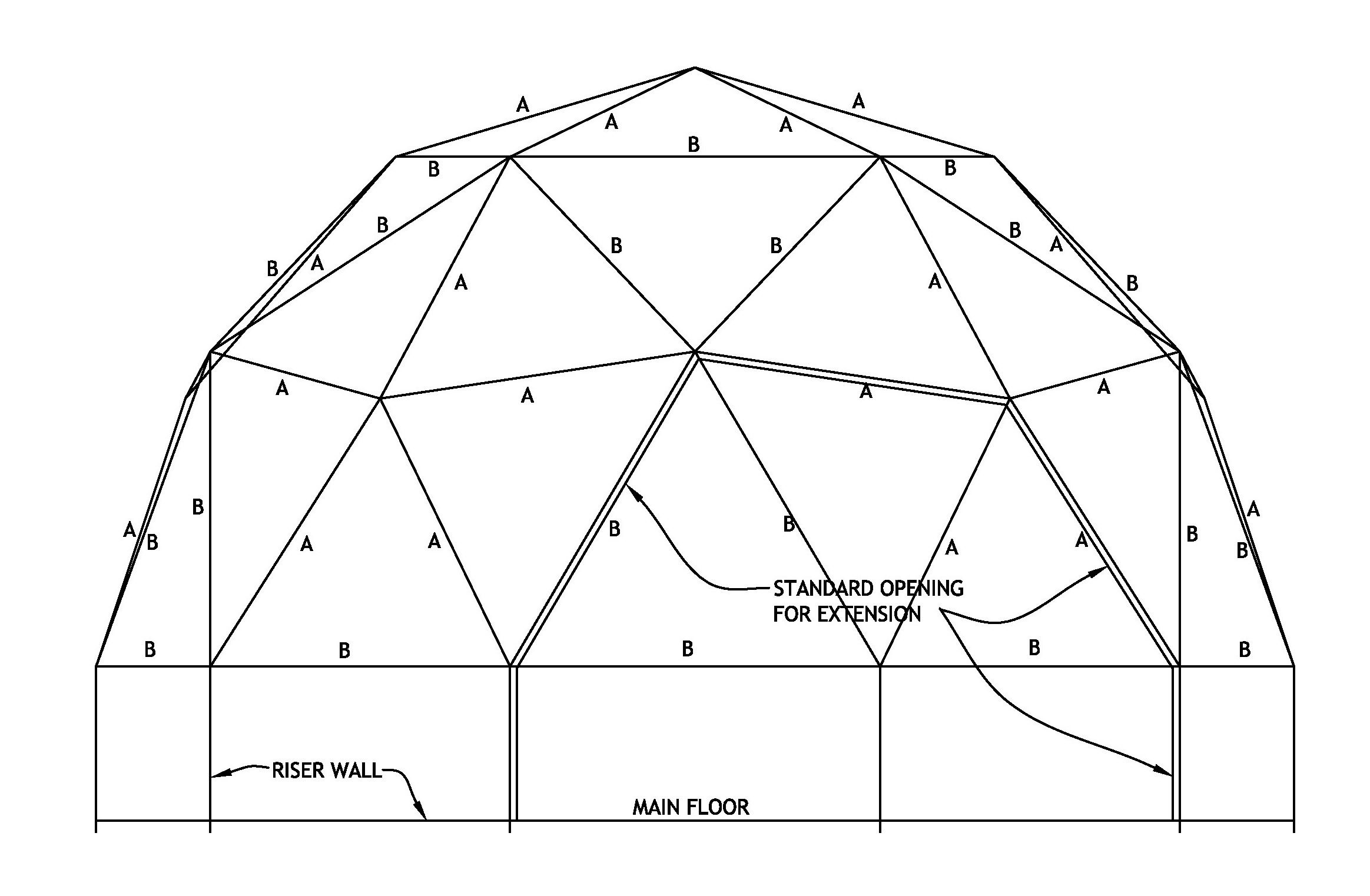 Dome Plans And Sizes In