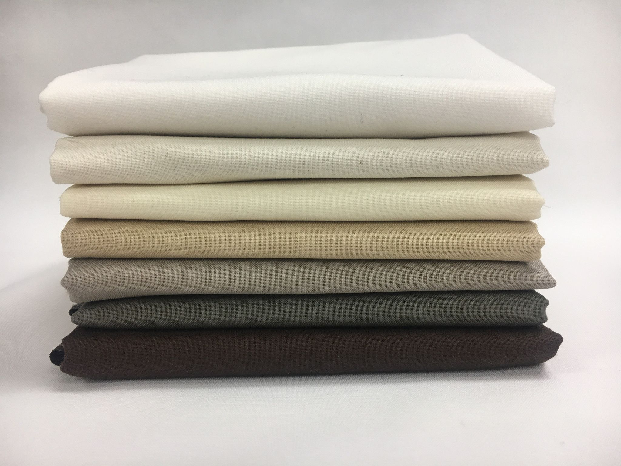 Moda Bella Solids Half Meter Bundle 7 Pieces Dark Warm Neutrals  #newstuff #spreadthelove #ruler #quilting