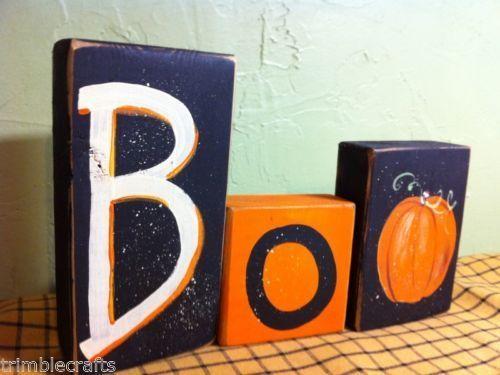 Boo-sign-wooden-blocks-stacking-shelf-sitter-Halloween-decor - halloween decor images