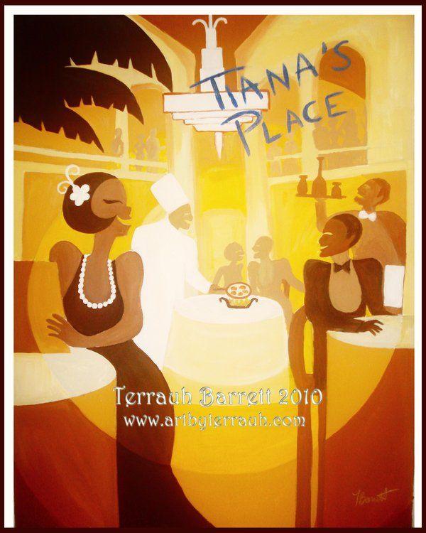 Tiana S Place By Terrauh Deviantart Com Disney Princess Tiana