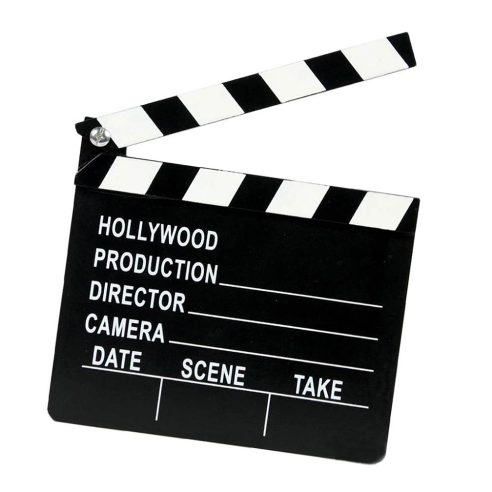 Movie Clapper Board Table Decoration Hollywood Pu27 Hollywood Table Decorations Hollywood Party