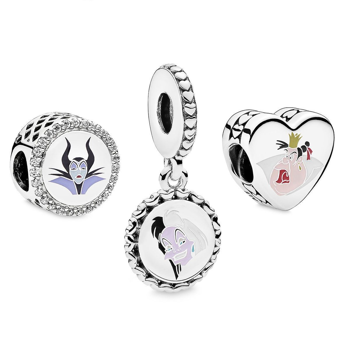356aea31f Disney Villains Charm Set by Pandora Jewelry in 2019 | Things I want ...