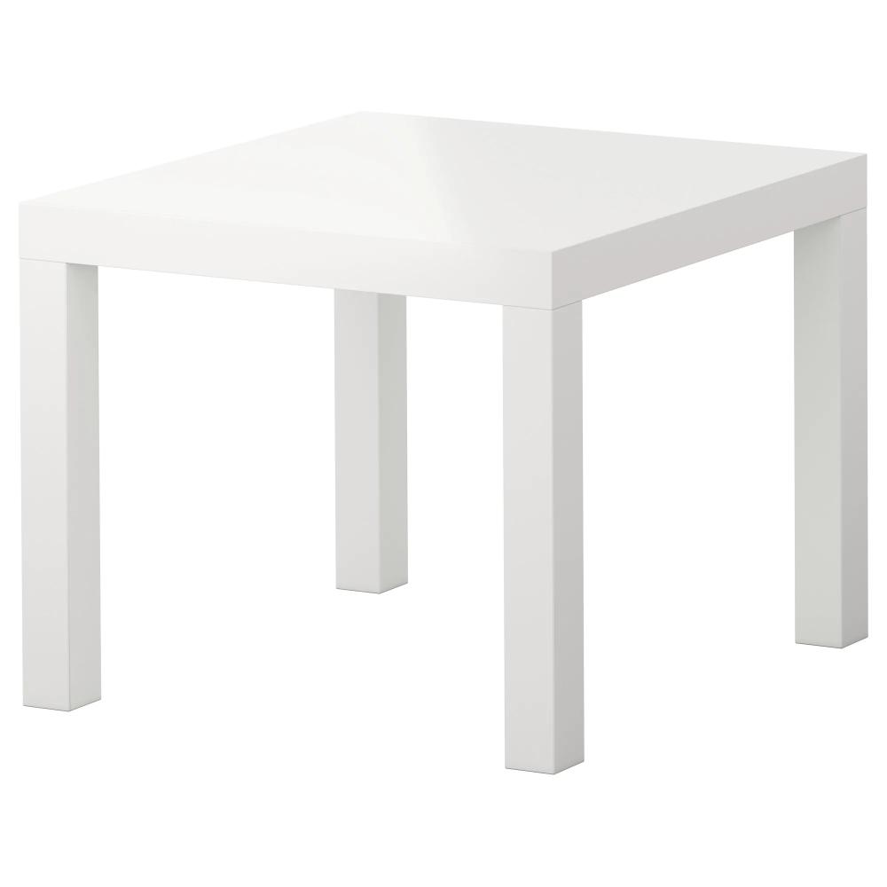 Lack Stolik Polysk Bialy 55x55 Cm Dodaj Do Listy Zakupow Ikea Ikea Lack Side Table Square Coffee Table Ikea Ikea Side Table