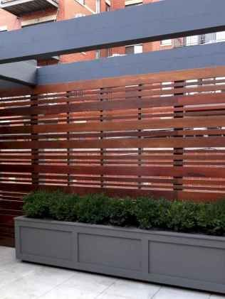 Awesome Modern Front Yard Privacy Fences Ideas (94) #zaunideen