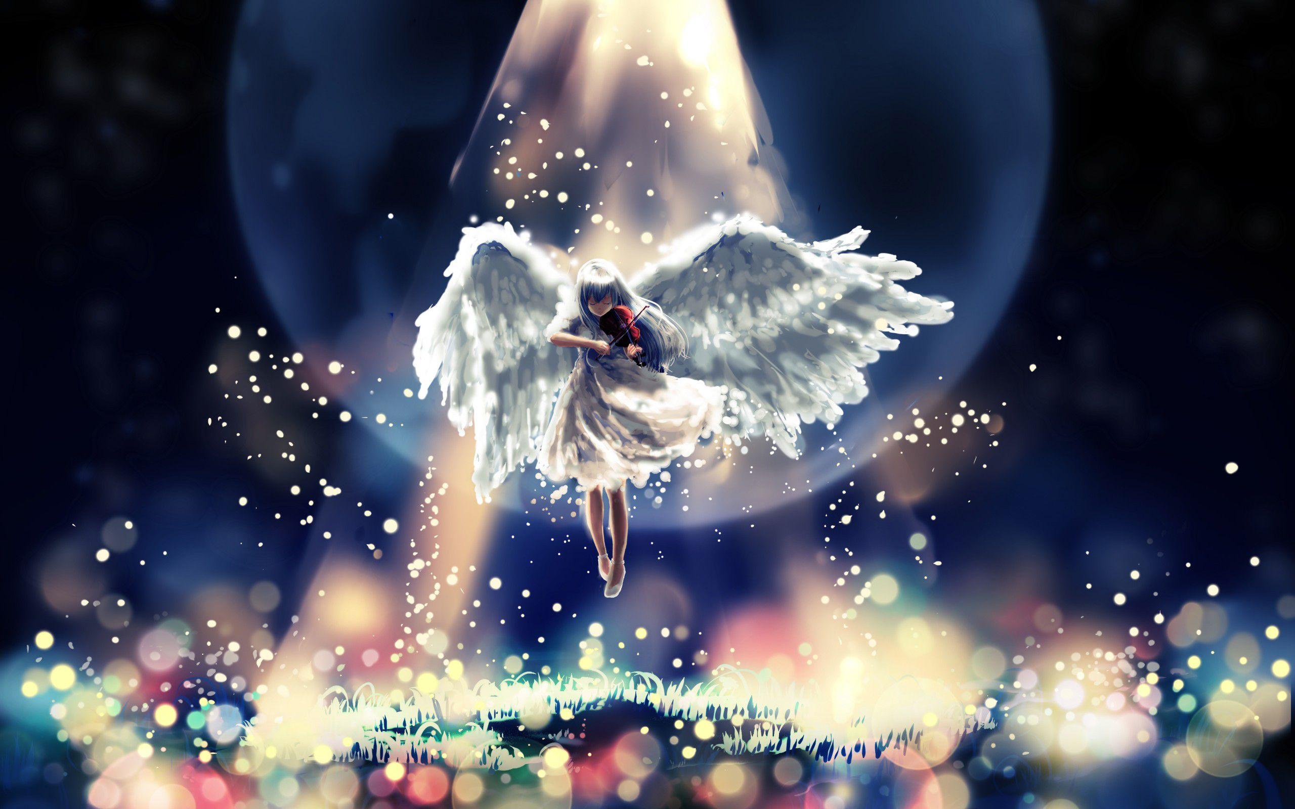 Anime Angel Beats! Kanade Tachibana Wallpaper Angel