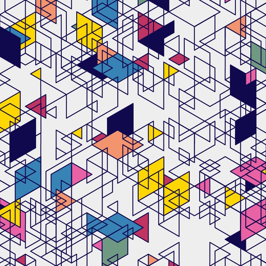 Geometric Shapes 170621 Processing Pattern Generative Art