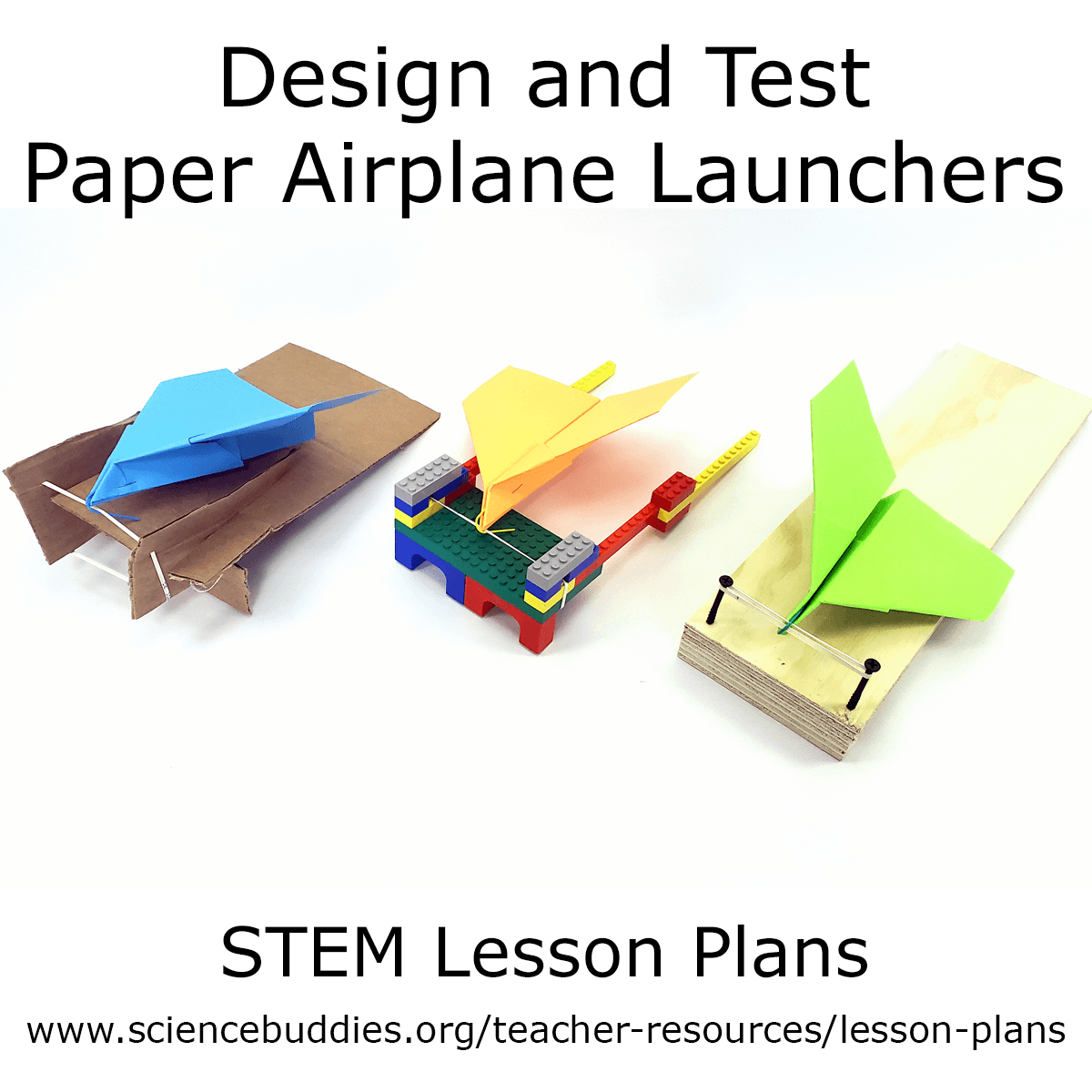 Paper Airplane Launcher Stem In
