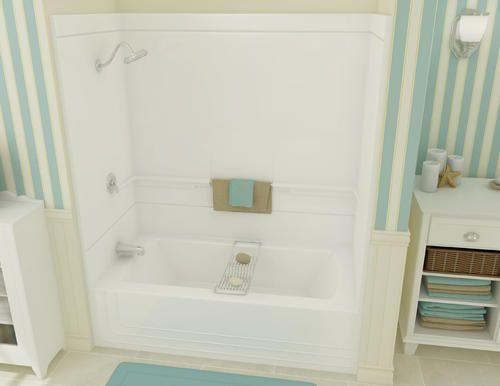 Maax® Monaco 2 Piece Tub Shower (Right Drain)