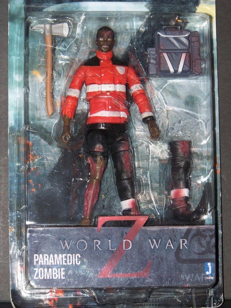 World War Z Paramedic Zombie Dead Walker Action Toy Play Figure Movie Character Selling On Ebay Ebay Zombie