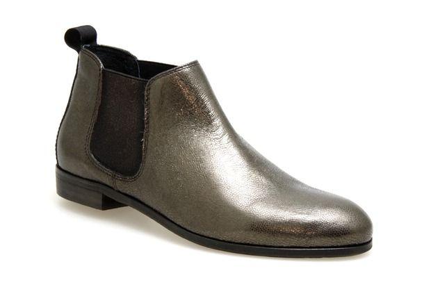 Mocassins COCO ET ABRICOT X0031 Bronze - Chaussures femme
