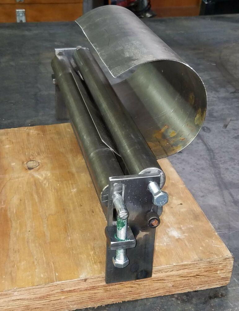 12 X 10 Gauge Sheet Metal Roller Slip Roll Rolling Metalworking Brass Steel Ebay In 2020 Metal Bending Tools Sheet Metal Roller Sheet Metal Tools