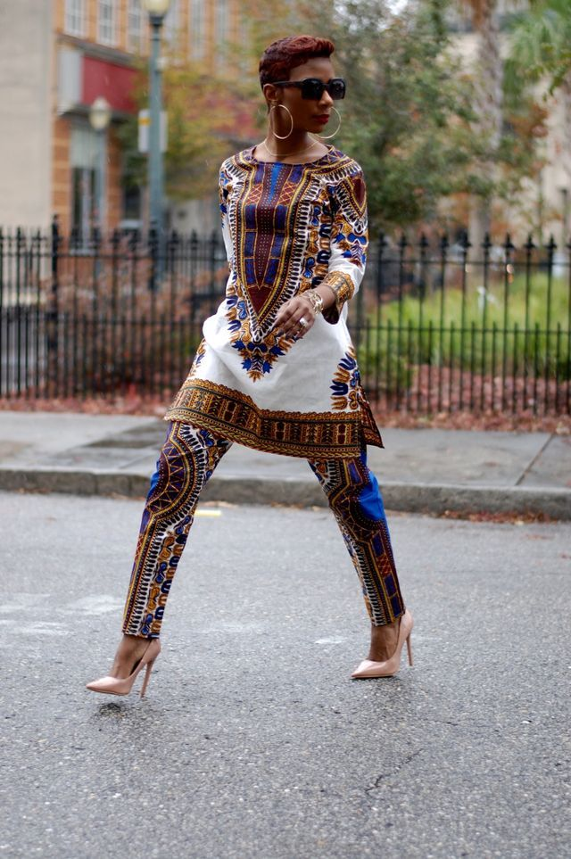 Dashiki (YOUNG AT STYLE) Ankara Patterns Mode
