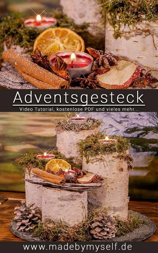 DIY Fadenlampe  Lampenschirm selber machen  Made by myself  Dein DIY Heimwerker …,  #advent…
