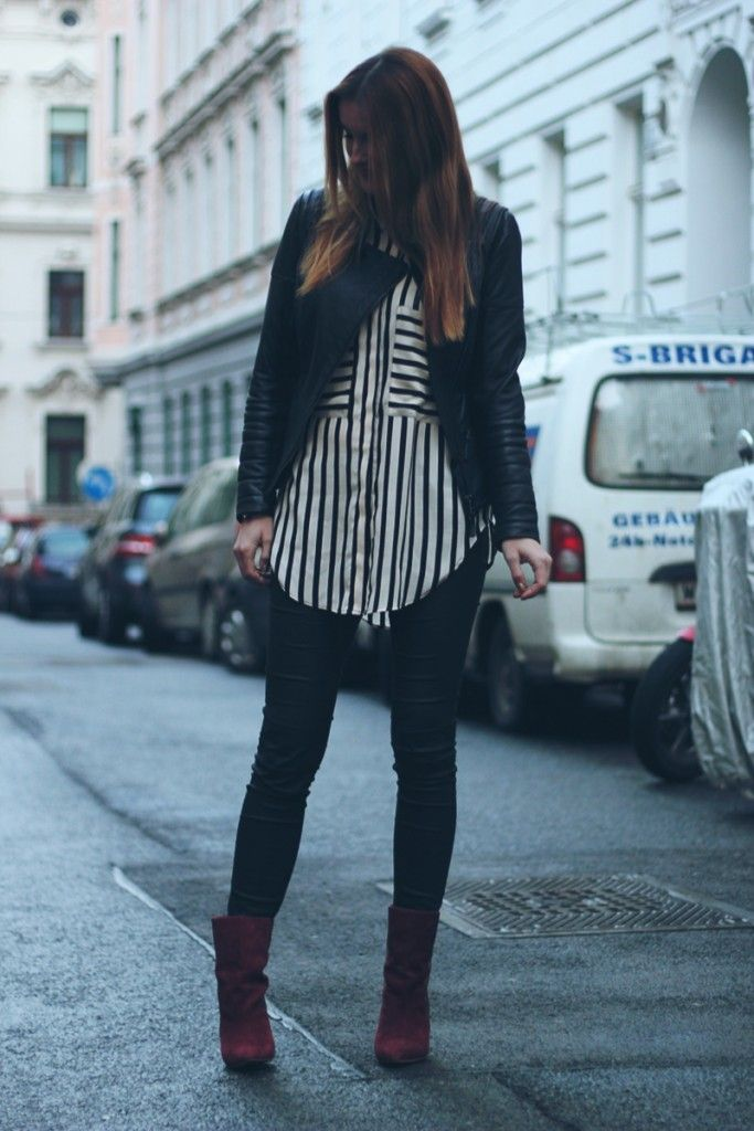ootd: stripes - not only trousers - worry about it later