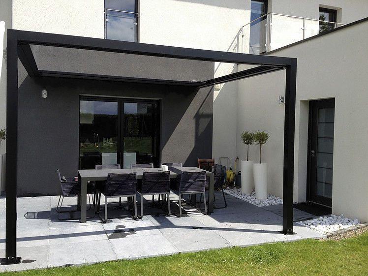 pergola autoportante en aluminium couverture. Black Bedroom Furniture Sets. Home Design Ideas