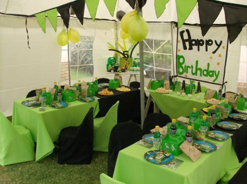 Ben 10 Table Decor