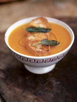 Superb Squash Soup Rezept Pinterest Jamie Oliver Oliven Küche