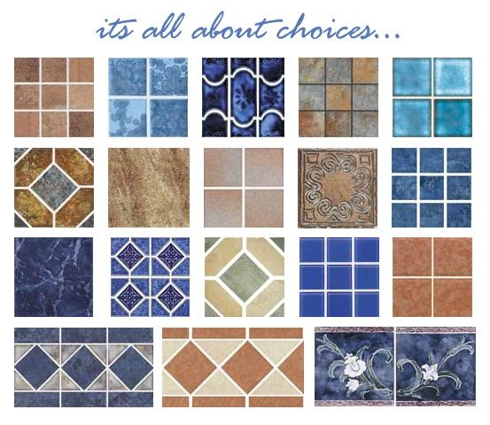 pool tile photo gallery - Google Search | Swimming pools ...