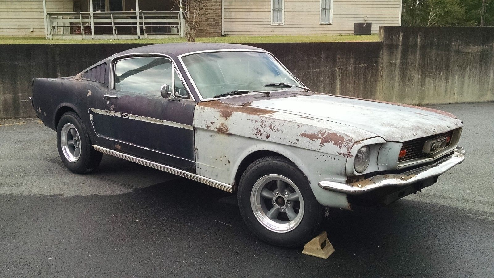 1965 ford mustang 1965 ford mustang fastback c code no reserve