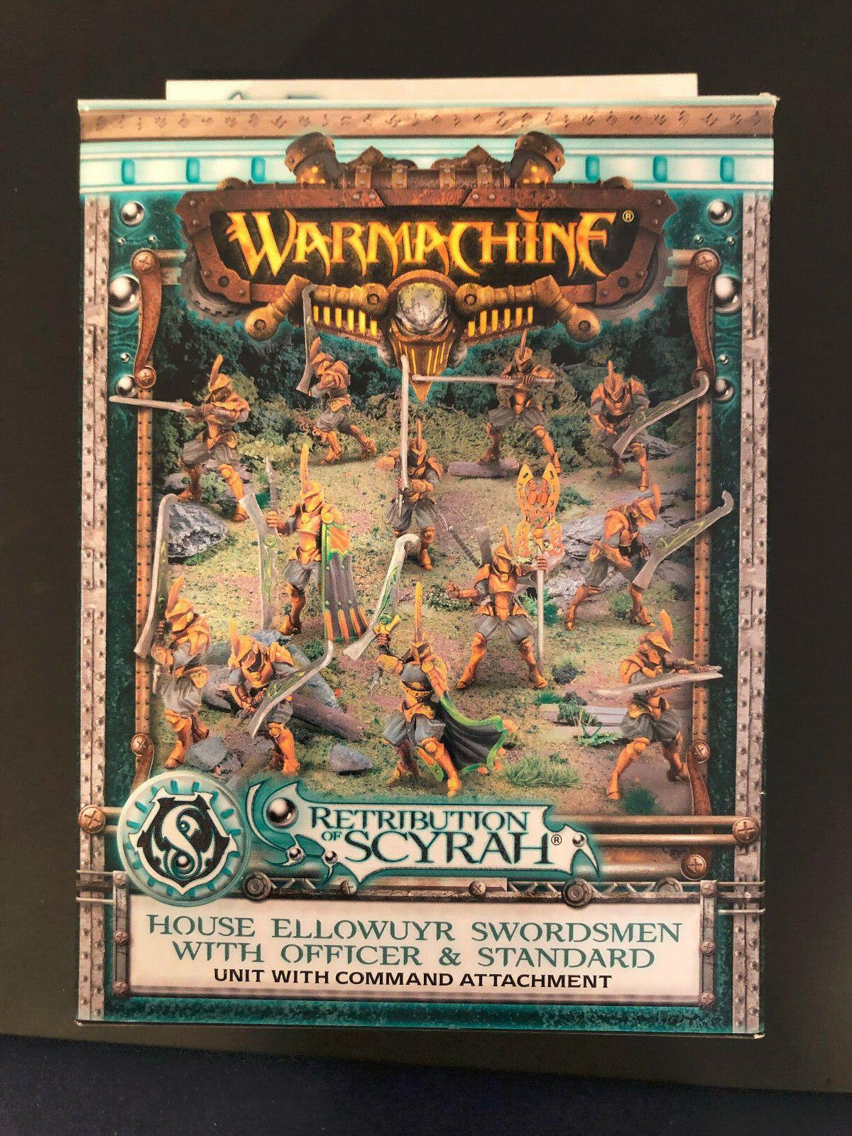Warmachine Retribution of Scyrah House Ellowuyr Swordsmen NIB PIP35077