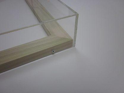 Smallcorp Acrylic Box Frames Are Custom Made To Order Box Frames Acrylic Box Plexiglass Frames