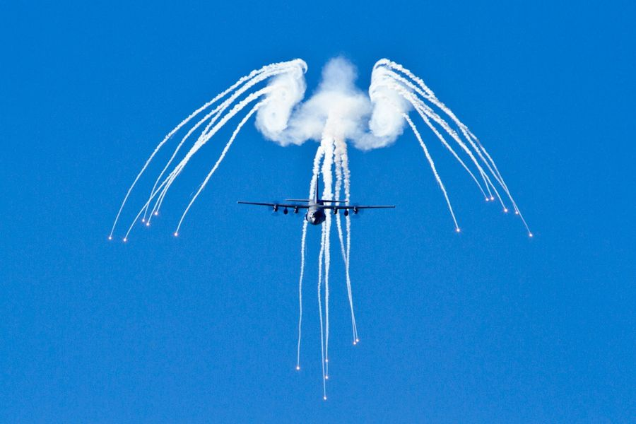 hercules angel wing flare pattern aircraft pinterest angel