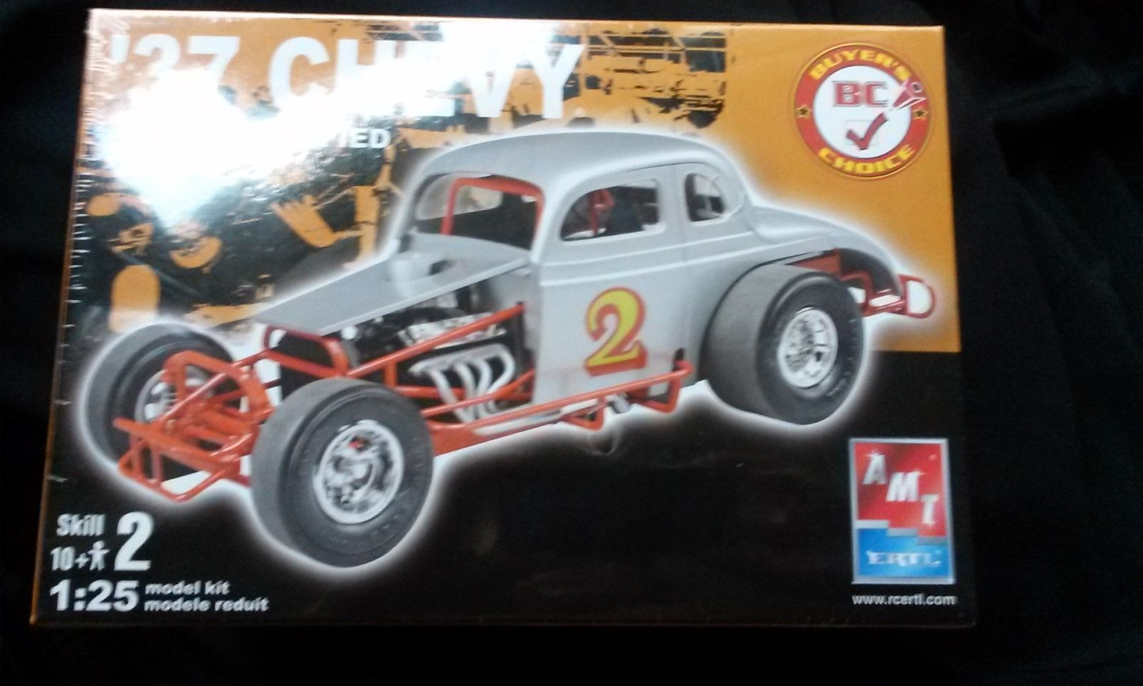 AMT Ertl '37 Chevy Early Modified Car Model Kit SEALED 38180 | eBay