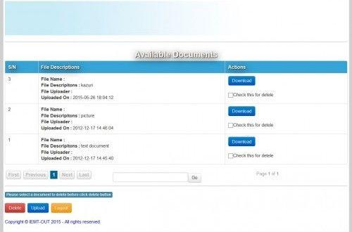 file upload in php and mysql