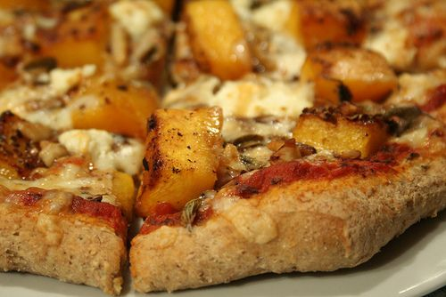 Butternut Squash Pizza by Sonia! The Healthy Foodie on Flickr.